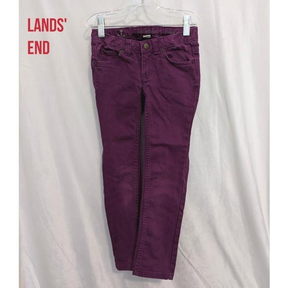 Lands' End Other - Lands' End Pencil Leg Colored Jeans